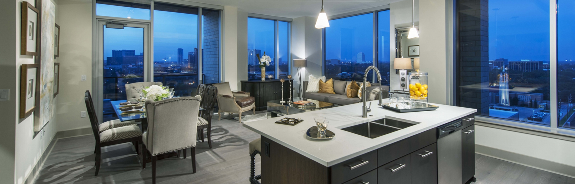 luxury corporate apartments in houston
